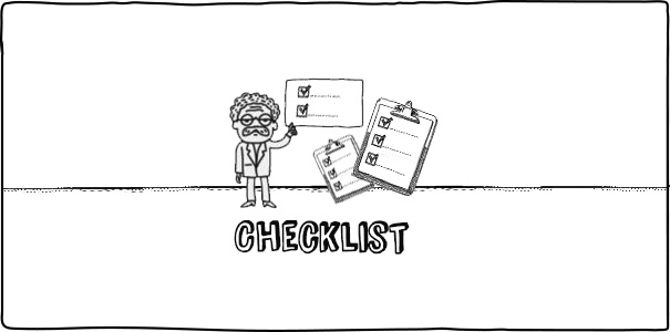 Never-forget-your-checklist