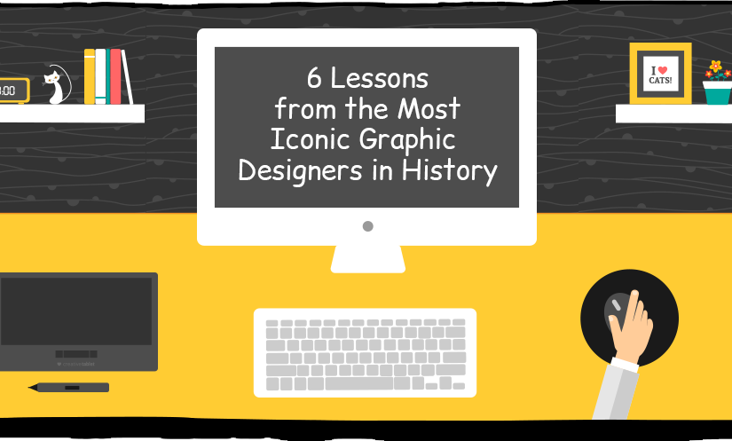 Most Iconic Graphic Designers in History