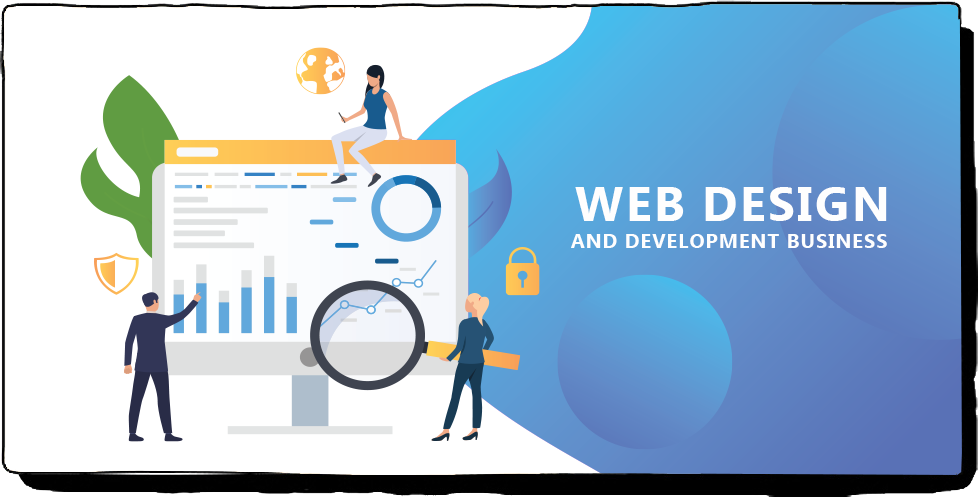 web design and development business