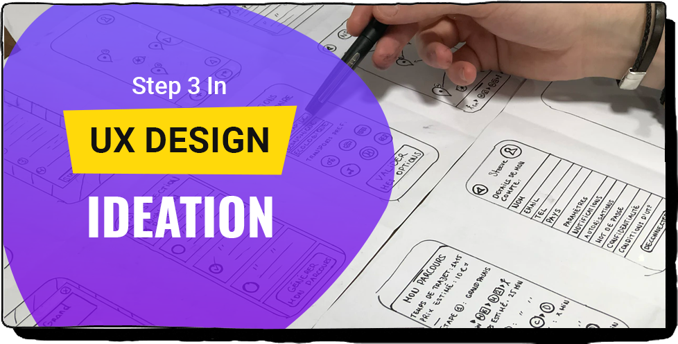 STEP 3 IN UX DESIGN: IDEATION